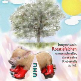 10 Ferkel Schwein
