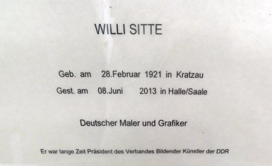 1910 Pers Willi Sitte 749