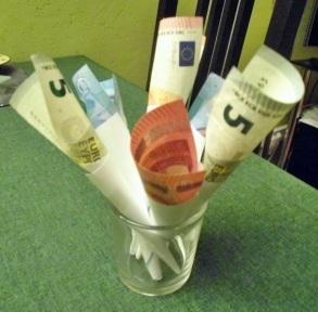 1312 Geldblumenstrauß 1