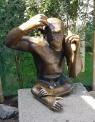 0408 2007 Zoo Affen Skulptur 2