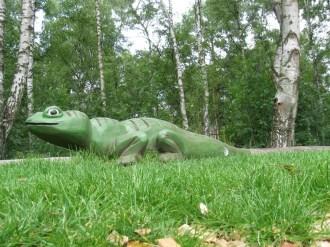 0702 Krokodil Holz